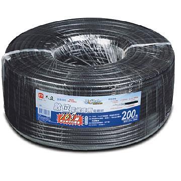 大通168編織電視專用電纜線200米(5C168-200M)