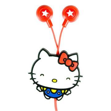 Hello kitty 50週年限定版造型耳機(CKT-KT-E05)
