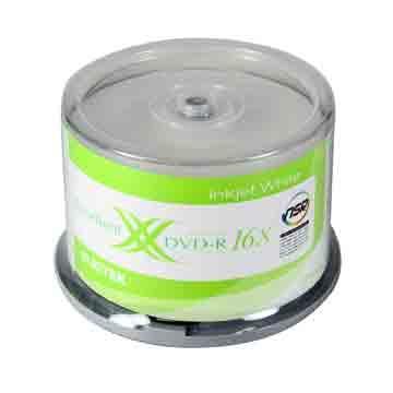 RITEK 可列印 16X DVD-R/50片裝(16 DVD-R)