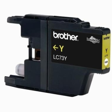 Brother LC-73Y黄色墨水匣(LC-73Y)