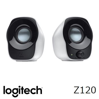 【拆封品】羅技 Logitech Z120 USB供電兩件式喇叭音箱