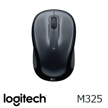 罗技 Logitech M325 无线鼠标 - 黑(910-002153)