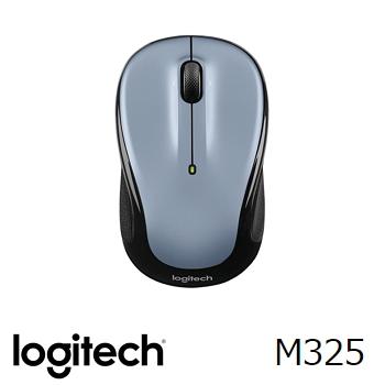 罗技 Logitech M325 无线鼠标 - 银(910-002321)