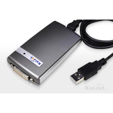 凱捷 KA8203 DVI外接式顯示卡(KA8203)