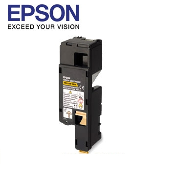 EPSON C17系列黃色碳粉匣(C13S050611)
