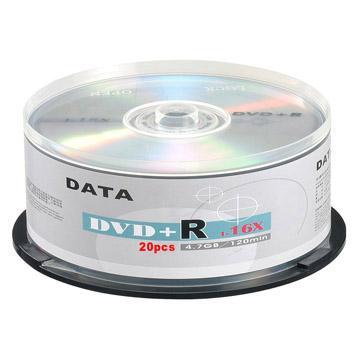 DATA 16X DVD+R/20片桶裝(OT-MDC016)