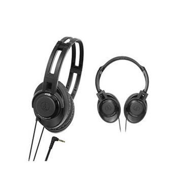 audio-technica XS5(黑)小頭戴式耳機(ATH-XS5(BK))