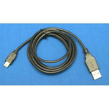 R-driver USB 2.0傳輸線-A公對Mini 5Pin(RLNE-U2AM5P1BK)