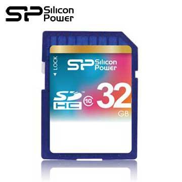 廣穎SDHC 32G C10記憶卡(SP032GBSDH010V10)