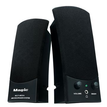MAGIC 多媒體USB喇叭(SK-668BK)