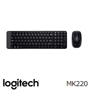 羅技MK220無線鍵盤滑鼠組
