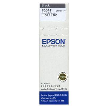 EPSON T66系列原廠黑色墨水匣(C13T664100)