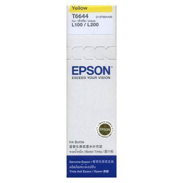 EPSON T66 原廠黃色墨水