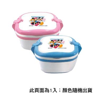 米妮米奇雙色便當盒(1件) S-8800A(粉/藍)(S-8800A(粉/藍))
