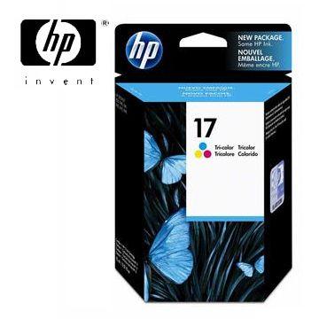 HP 17號彩色墨水匣(C6625A)