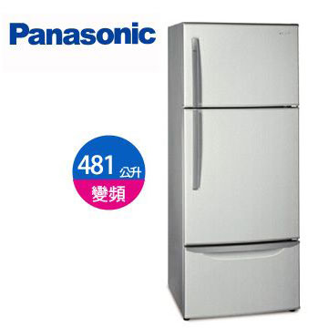 Panasonic 481公升1級 三門變頻冰箱(NR-C485TV-HL(珍珠銀))