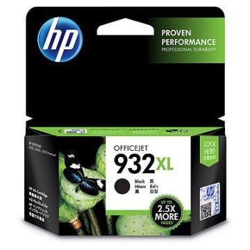 HP 932XL黑色墨水匣(CN053AA)