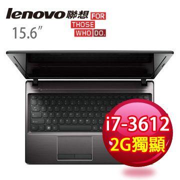 LENOVO 三代i7雙核2G獨顯筆電 G580a 59334599