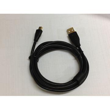 R-driver USB2.0 A公對Mini5P充電傳輸線(UAFTMF1.8M)