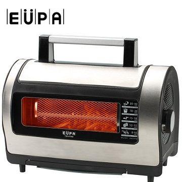 【福利品】EUPA 遠紅外線低脂旋風烘烤爐