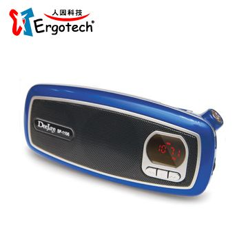 人因DeeJay MP3/USB/FM隨身音響 SP1106E(SP1106E)