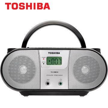 [福利品]東芝MP3手提CD音響 TX-CRM10TW(TX-CRM10TW)
