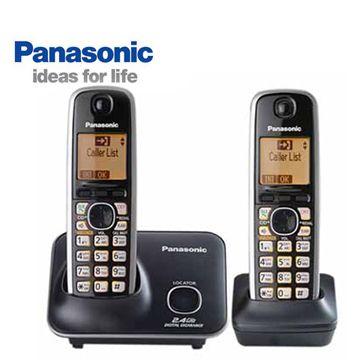 【福利品】 Panasonic 2.4GHz數位雙機無線電話 KX-TG3712(KX-TG3712)