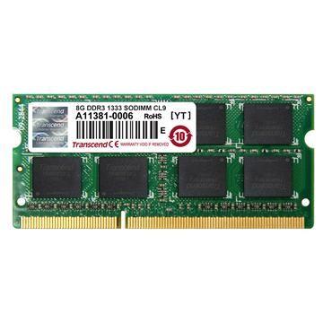 創見筆電用DDR3-1333 8GB(JetRam系列)(JM1333KSH-8G)