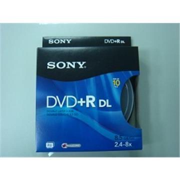 SONY 8X DVD+R DL/10片桶裝(10DPR85SP)