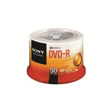 SONY 16X DVD-R/50片桶裝(50DMR47SP)