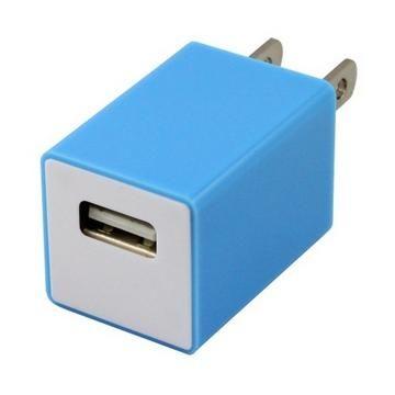 TOPPOP 方塊USB 電源轉換器-藍(TP-121002011)