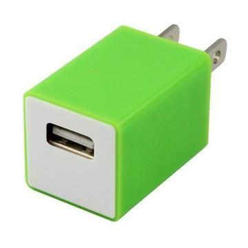 TOPPOP 方塊USB 電源轉換器-綠(TP-121002012)