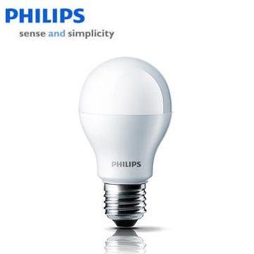 飛利浦LED球型9-60瓦黃光(120V)(929000216837)