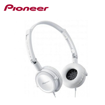 Pioneer 絢彩時尚耳罩式耳機-白(SE-MJ511-W)