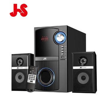 JS 海洋之音-多功能3D全木質三件式喇叭(JY3301)