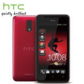 HTC J 智慧型手機/紅(Z321E)