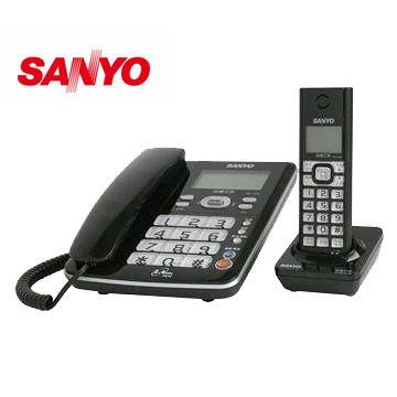 【福利品】三洋2.4G數位無線親子電話(DCT-8906)