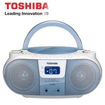 TOSHIBA MP3手提CD音響(藍色)  TX-CRM10TW(L)(TX-CRM10TW(L)(藍色))