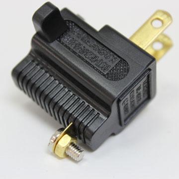 群加 3轉2 L型電源轉接插頭【兩入】