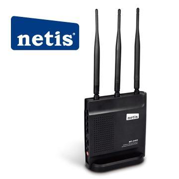 netis 黑極光無線寬頻分享器(WF2409)