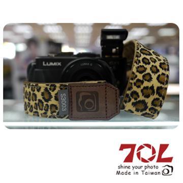 70L COLOR STRAP彩色相機背帶-豹紋金(S3003)