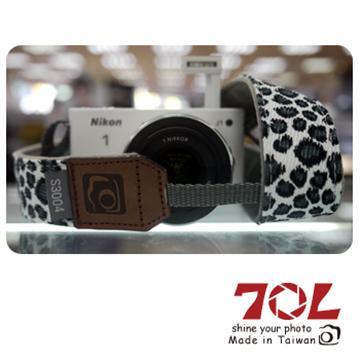 70L COLOR STRAP彩色相機背帶-豹紋白(S3004)