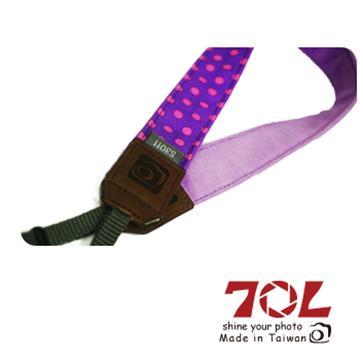 70L COLOR STRAP可愛圓點相機背帶-魔幻紫(S3011)