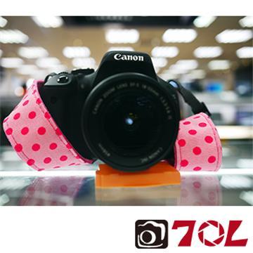 70L COLOR STRAP可愛圓點相機背帶-甜美粉(S3012)