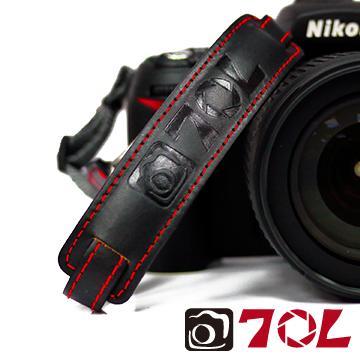70L SWL1201彩色真皮手腕帶-尊爵黑紅(SWL1201尊爵黑紅)