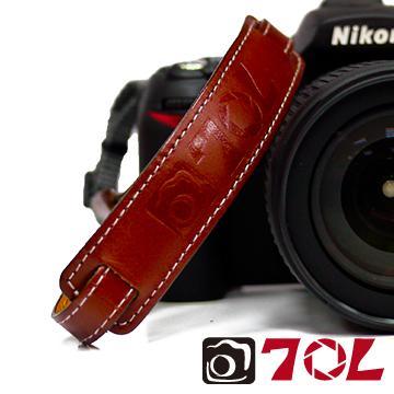 70L SWL1201彩色真皮手腕帶-杏茶銀褐(SWL1201杏茶銀褐)