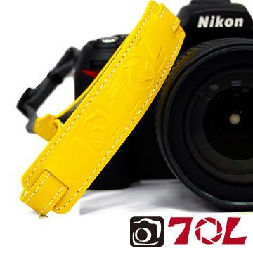70L SWL1201彩色真皮手腕帶-活潑黃(SWL1201活潑黃)