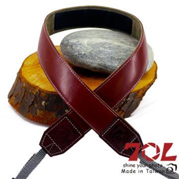 70L SL3501真皮彩色相機背帶-杏茶銀褐(SL3501杏茶銀褐)