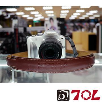 70L SL1601真皮彩色相機背帶-杏茶金褐(SL1601杏茶金褐)