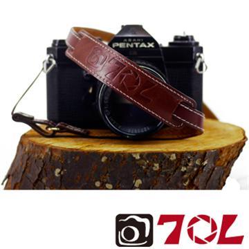 70L SWL1216真皮彩色相機背帶-杏茶銀褐(SWL1216杏茶銀褐)